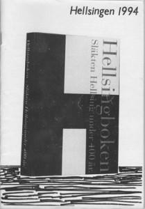 Hellsingen Årsskrift 1994